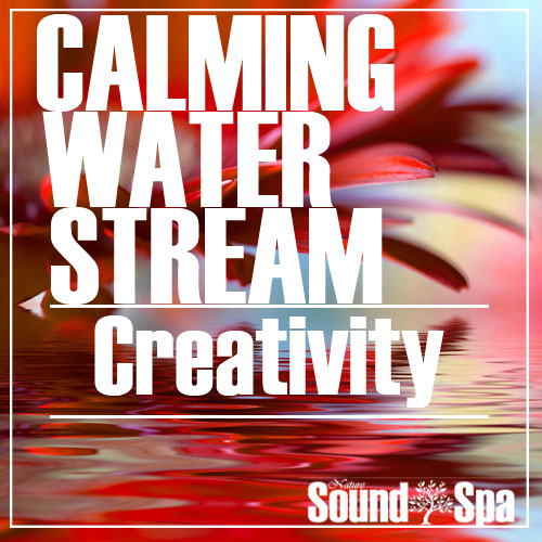 calming water stream