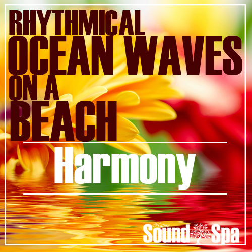 Rhythmical Ocean Waves On A Beach